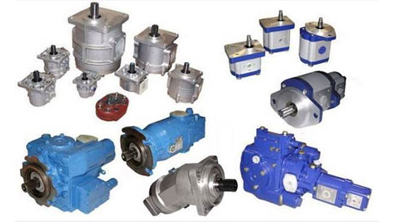 Технические характеристики гидромоторов, гидронасосов.