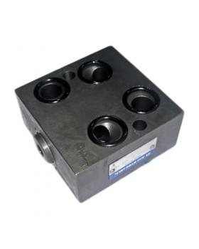 Блок клапанов BKH-5-100-M на насос дозатор (гидроруль, Orbitrol)